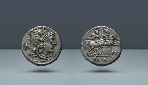 M. Iunius.  Roma, MÖ 145