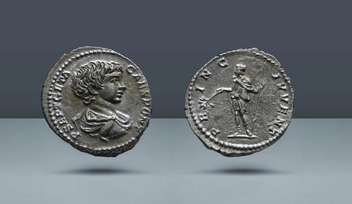Geta.  197-209 AD (Sezar).  Roma, c.  MS 200-202