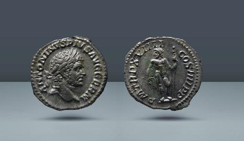 Caracalla.  MS 198-217.  Roma, c.  MS 216