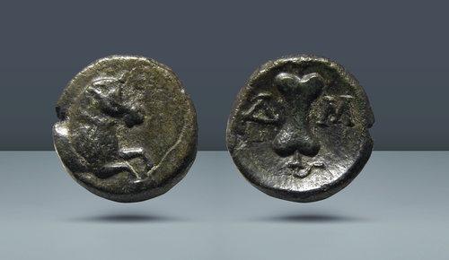 Pamphylia, Aspendus.  c.  420-370