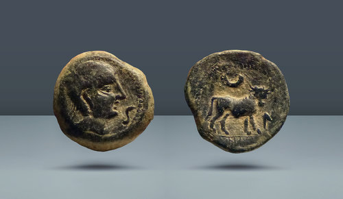 İspanya, Castulo.  MÖ 2. yüzyıl