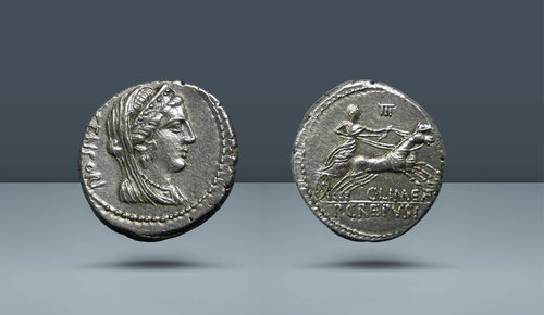P. Crepusius, C. Limetanus ve L. Censorinus, Roma MÖ 82