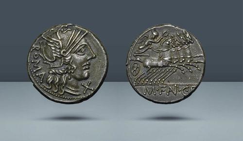 ROMA CUMHURİYETİ.  M. Fan CF Roma, MÖ 123