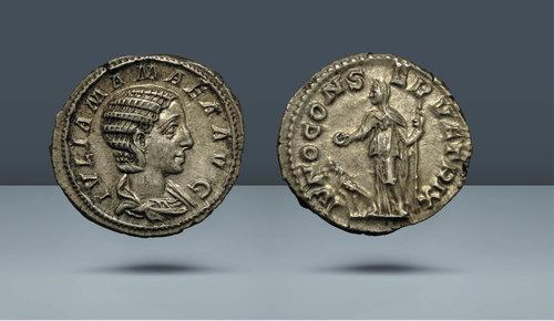 Augusta olarak Julia Mamaea.  MS 222-235.  Roma, MS 223