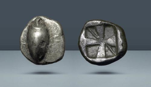 Boeotia, Orchomenos.  c.  MÖ 525-500