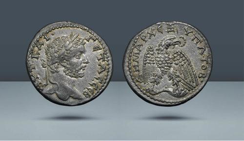 Seleucis ve Piera, Antakya.  Geta.  MS 209-211
