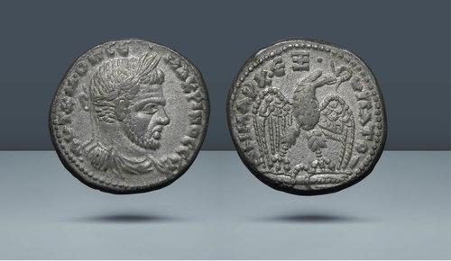 Seleucis ve Pieria.  Macrinus.  MS 217-218