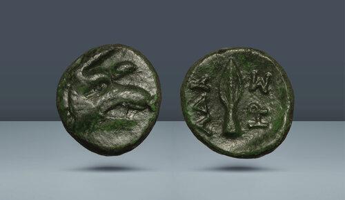 Trakya.  Adaios.  c.  260-245 BC