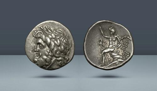 Peloponnesus.  Arcadia.  Megalopolis.  c.  MÖ 80-60.