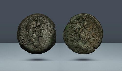 Antoninus Pius.  138-161 AD.  İskenderiye