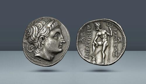 Demetrios Poliorketes.  MÖ 306-283
