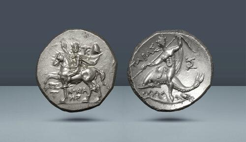 CALABRIA.  Tarentum.  c.  MÖ 240-228