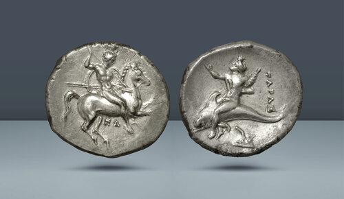 Calabria.  Tarentum.  c.  MÖ 325-281