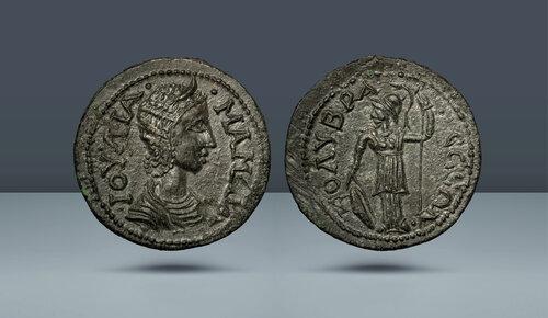 Kilikya, Colybrassus.  Julia Mamaea.  Augusta.  MS 222-235