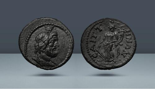 Lydia.  Saitta.  c.  MS 2.-3. yüzyıl