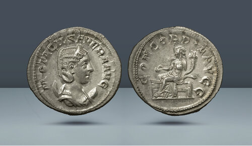 Otacilia Severa, I. Philip'in karısı MS 244-249.  Roma