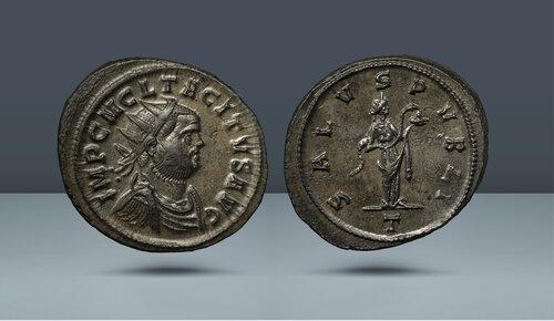Tacitus.  MS 275-276.  Roma