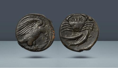 Sicilya, Akragas.  c.  MÖ 425-410