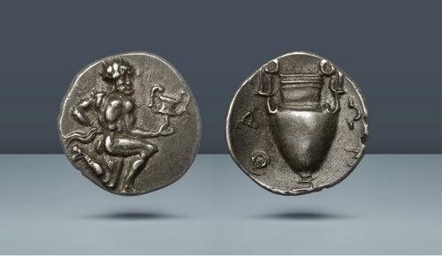 Trakya, Taşoz.  c.  412-404 BC