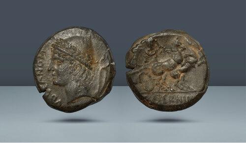 Samnium, Aesernia.  c.  MÖ 263-240