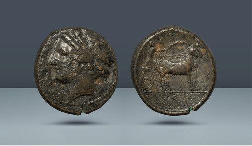 Sicilya, Messana.  c.  MÖ 317-311