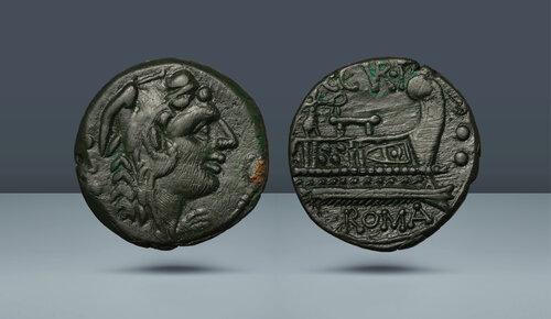 Roma Cumhuriyeti, C. Curatius Trigeminus.  Roma, c.  MÖ 135