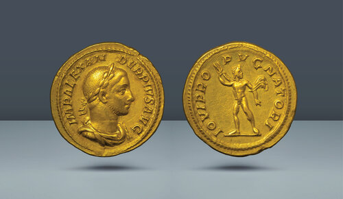 Severus Alexander.  MS 222-235.  Roma, c.  MS 231