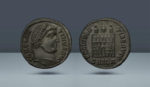 Konstantin I. 307 / 310-337 AD.  İskenderiye, c.  MS 325/6