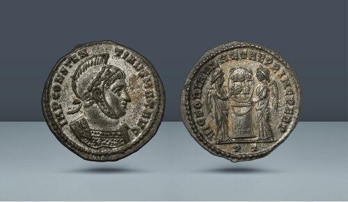 Konstantin I. 307 / 310-337 AD.  Ticinium, c.  MS 318-319