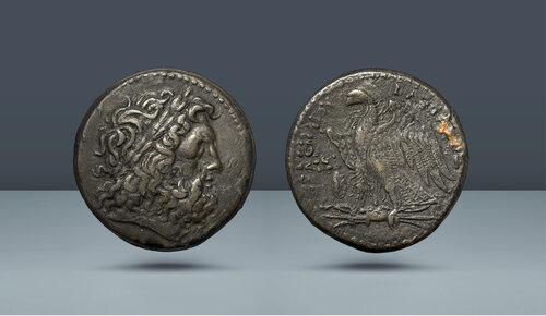 MISIR'IN PTOLEMAİK KRALLARI.  Ptolemy II Philadelphos.  MÖ 285-246.  Vuruldu, c.  MÖ 275 / 4-260