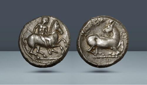 KİLİKYA.  Celenderis.  c.  MÖ 425-400.