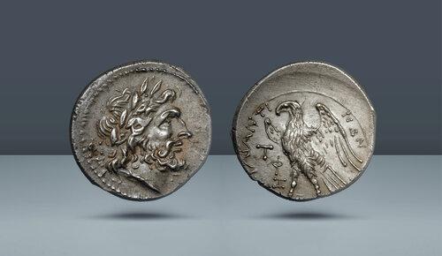 SİCİLYA.  Akragas.  c.  MÖ 214-210