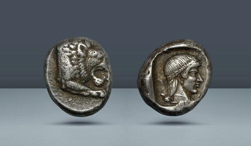 CARIA.  Knidos.  c.  MÖ 465-449