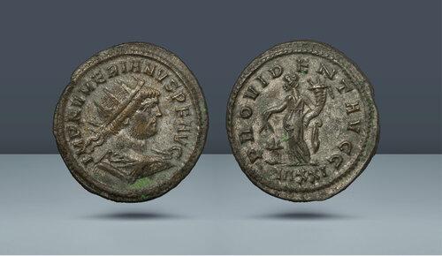 Numerian, MS 283-284.  Ticium, c.  MS 283