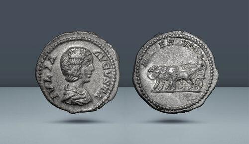 Julia Domna, Septimius Severus'un karısı.  Roma, c.  MS 193-196