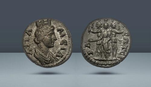 ROMA İLİ.  PHRYGIA.  Apameia.  Sözde özerk sorun.  Severanlar altında.  c.  MS 193-235