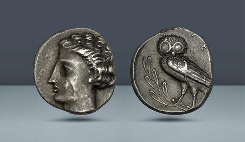 Lucania, Velia.  c.  MÖ 440-400