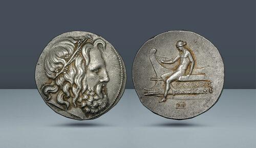 Makedonya Kralları, Antigonos III Doson.  MÖ 229-221.  Amphipolis nane (?), C.  MÖ 227-225