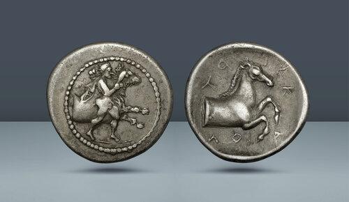 Teselya, Trikka.  c.  MÖ 440-400