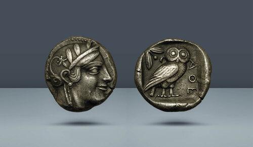 Attika, Atina.  c.  MÖ 454-404