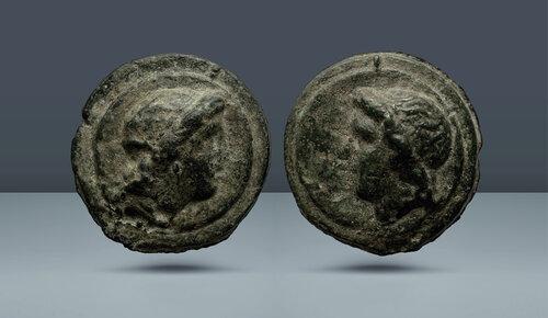 Roma Cumhuriyeti.  Aes Mezarı.  Roma, c.  MÖ 275-270
