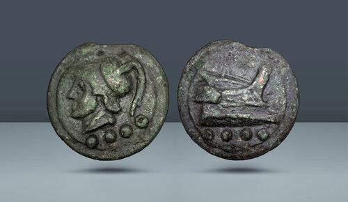 Roma Cumhuriyeti.  Anonim.  Roma, MÖ 225-217