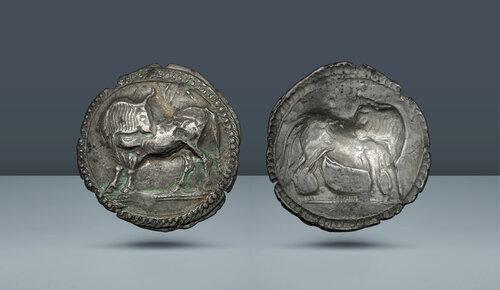 Lucania, Sybaris.  c.  MÖ 550-510.