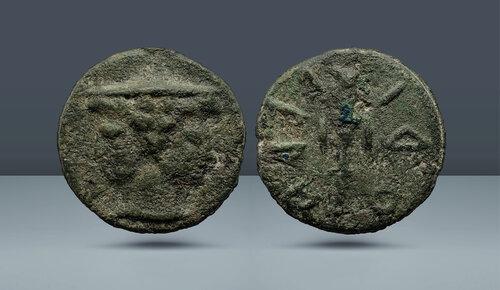 İtalya, Etruria.  Volaterrae (Volterra).  Kulüp serisi.  c.  MÖ 3. yüzyıl