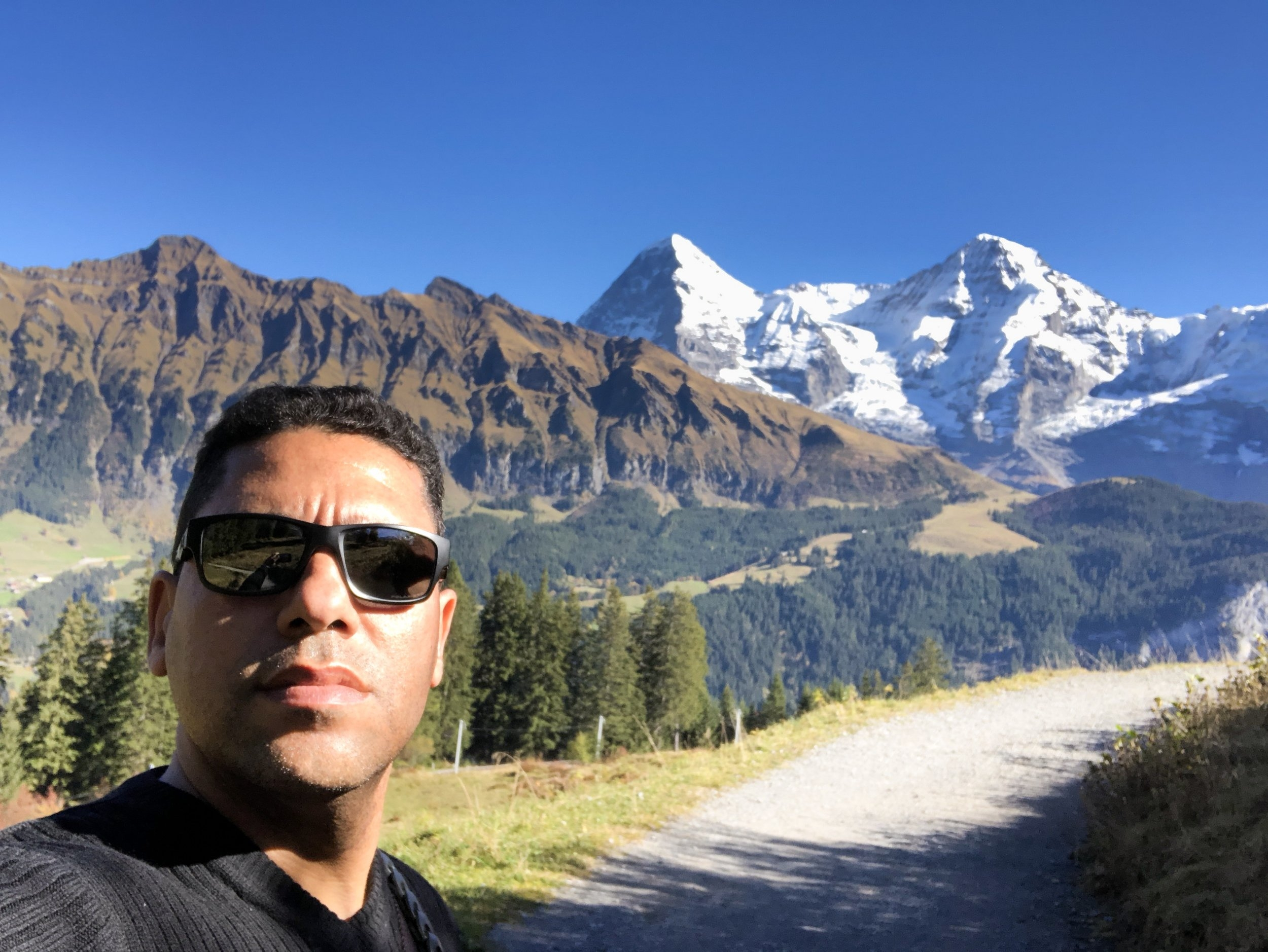 "On the ""top of Europe"" in Lauterbrunnen, Switzerland in fall 2017"