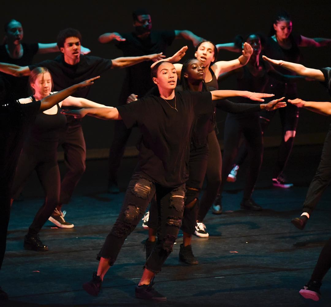 Destiny Arts Center - Dancers from the Destiny Youth Performance Company in their 2018 spring production EVOLVE