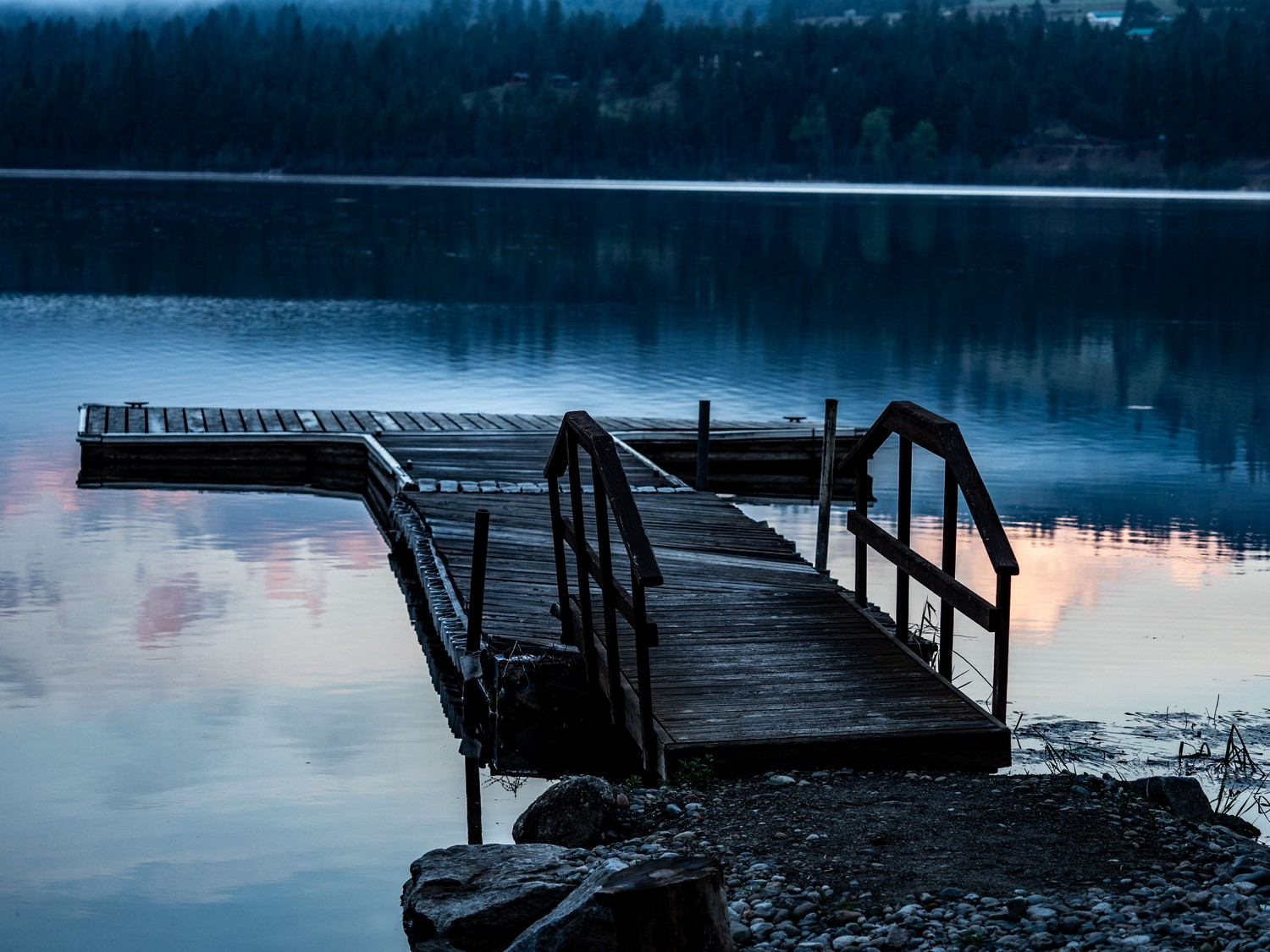 Curlew Lake dock