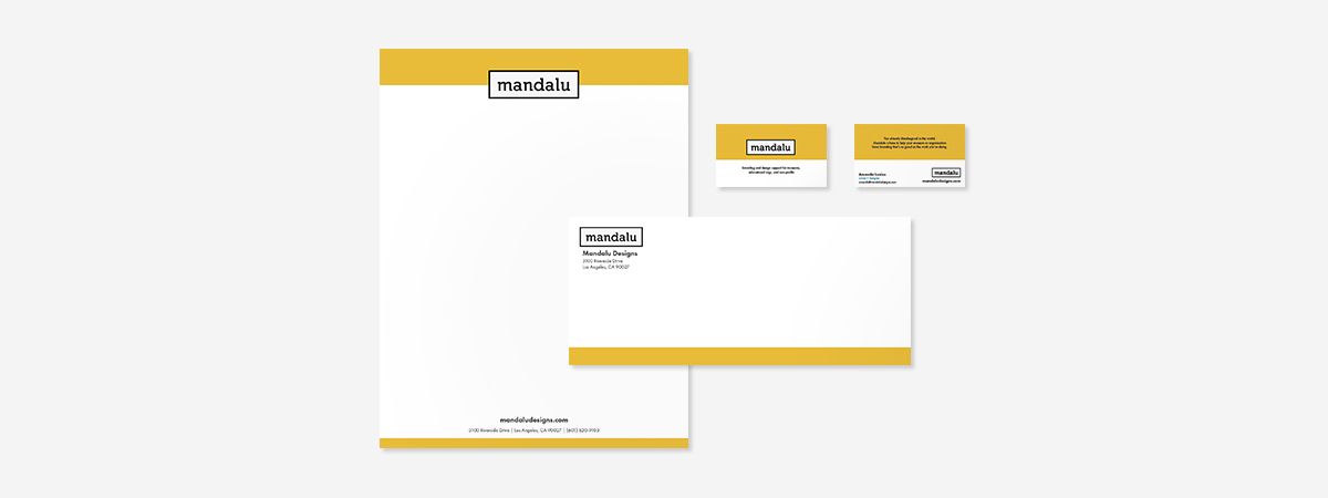 Business stationary is sometimes your first impression. Make sure it's a great one with custom design.
