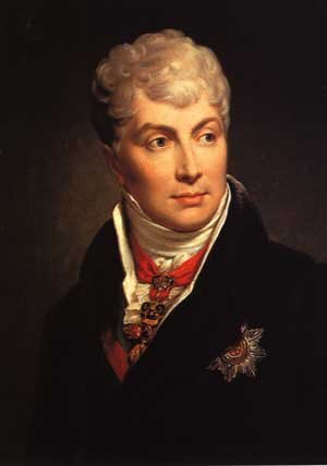 In addition to his diplomatic skill, Metternich had quite the reputation as a lover. He is around 60 in this portrait.