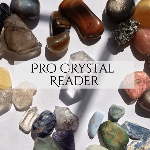 This is an online crystal divination course. Become a certified as a professional crystal reader!